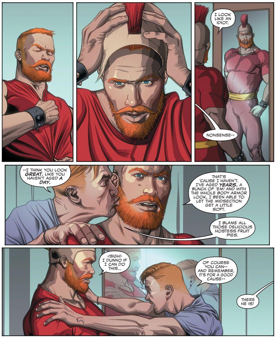 demolition man gay titan