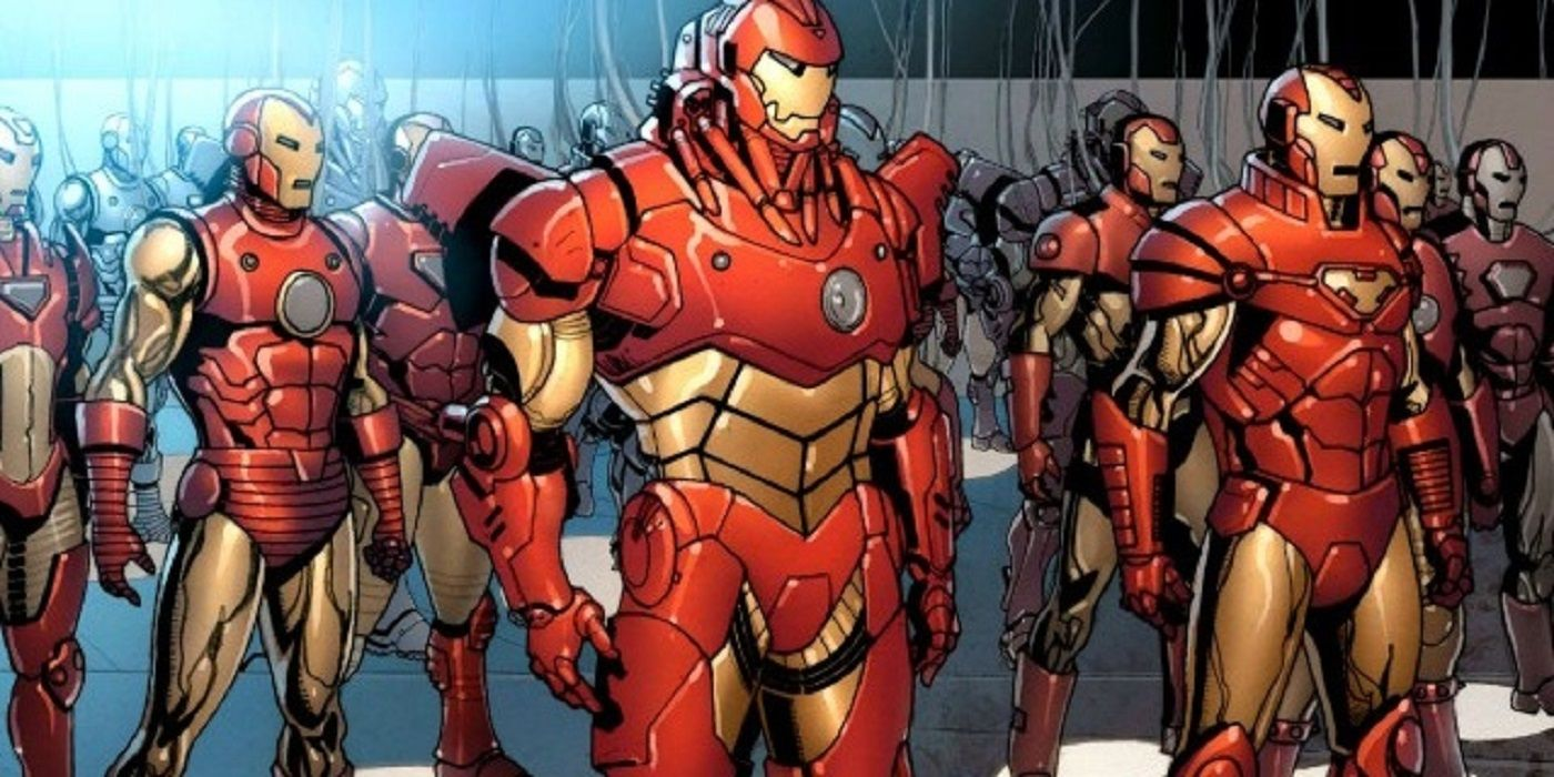 Iron Man: Tony Stark Dons Golden Avenger Armor for Ultron Agenda