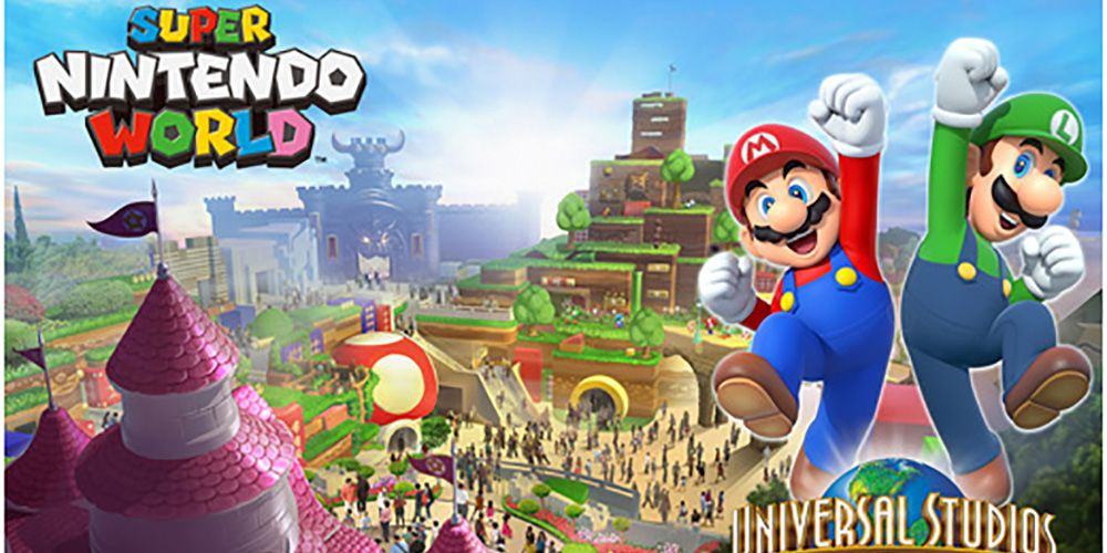 Super Nintendo World to Become Universal Orlando's Newest Theme Park