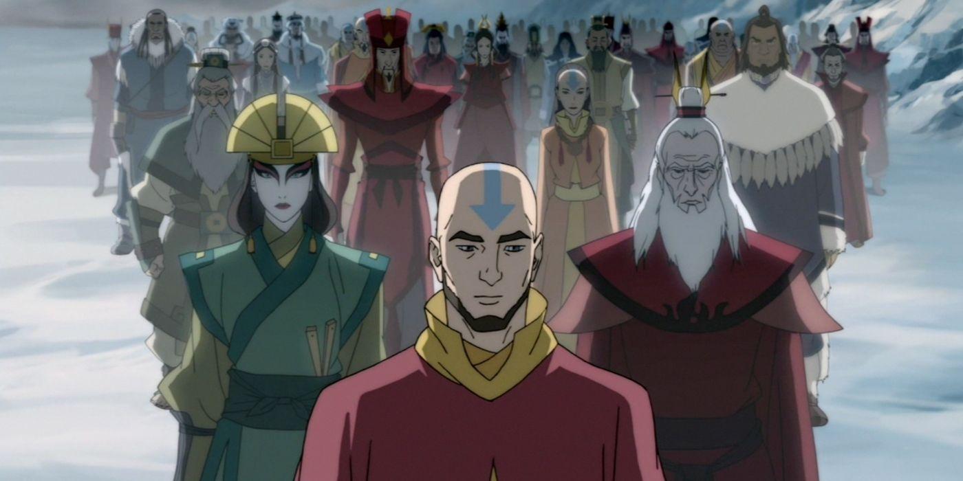 Aang Korra avatar: 15 last airbender and korra spinoff comics we want