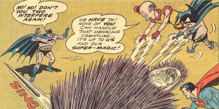 worlds finest comics 123 - Las 15 bromas más locas que Mr. Mxyzptlk le ha hecho a Superman