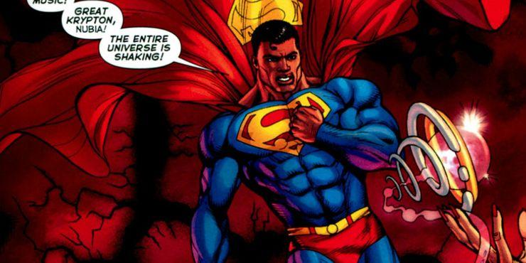 calvin ellis black superman - Llámame Superman pero no Clark Kent