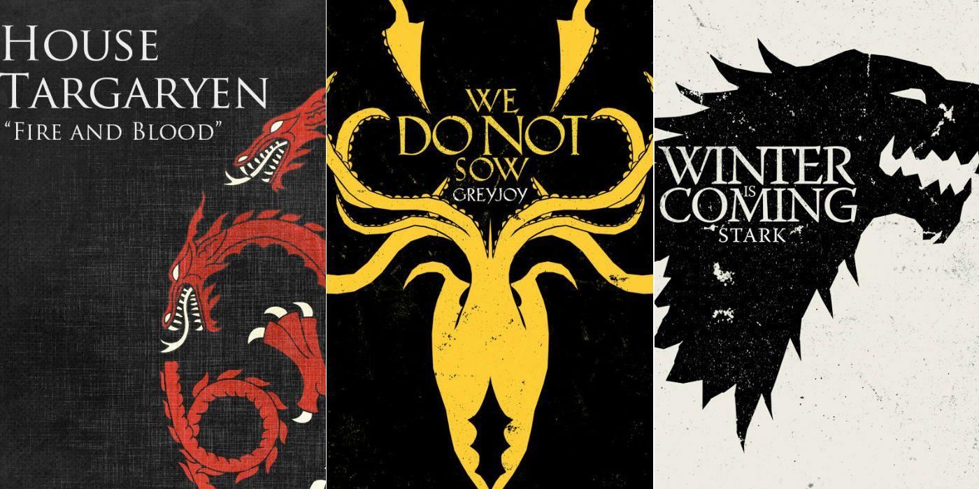 Game of Thrones Prequel Set Photos Reveal New House Sigil | CBR