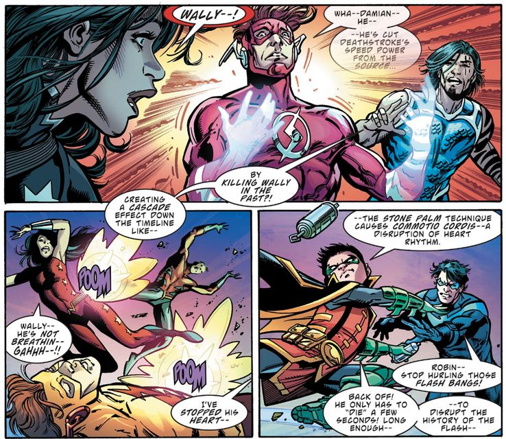 Wally West's New Romance, and a Traitor in the Titans' Midst