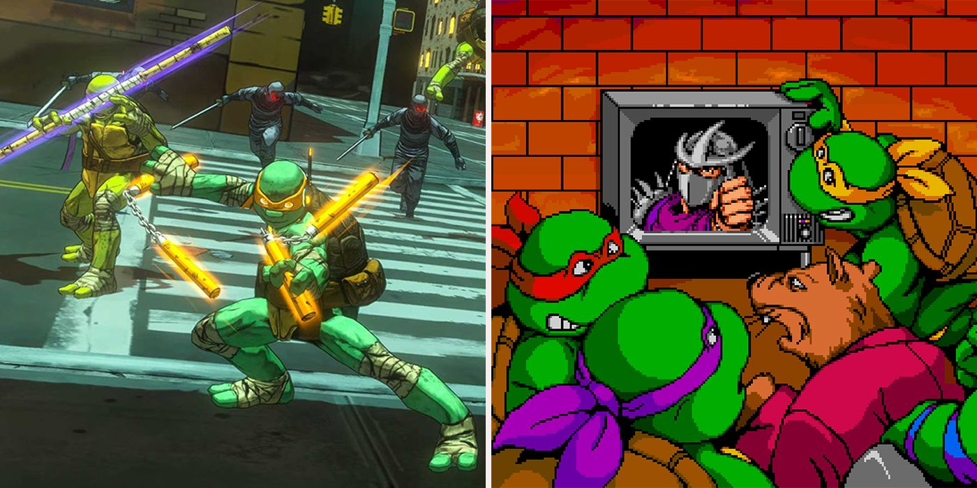 15 TMNT Video Games Ranked From Worst To Best - CBR