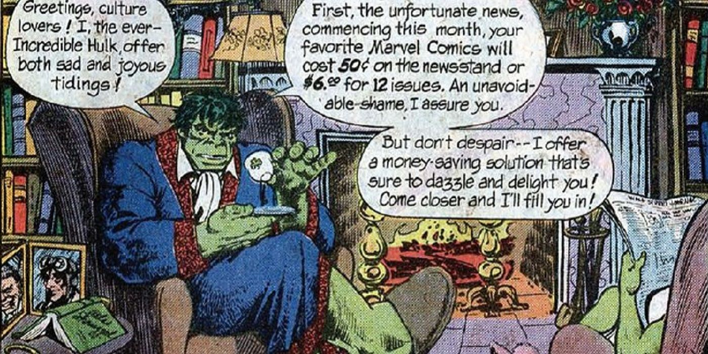 Check Out These Classic Strange Marvel and DC Subscription Ads