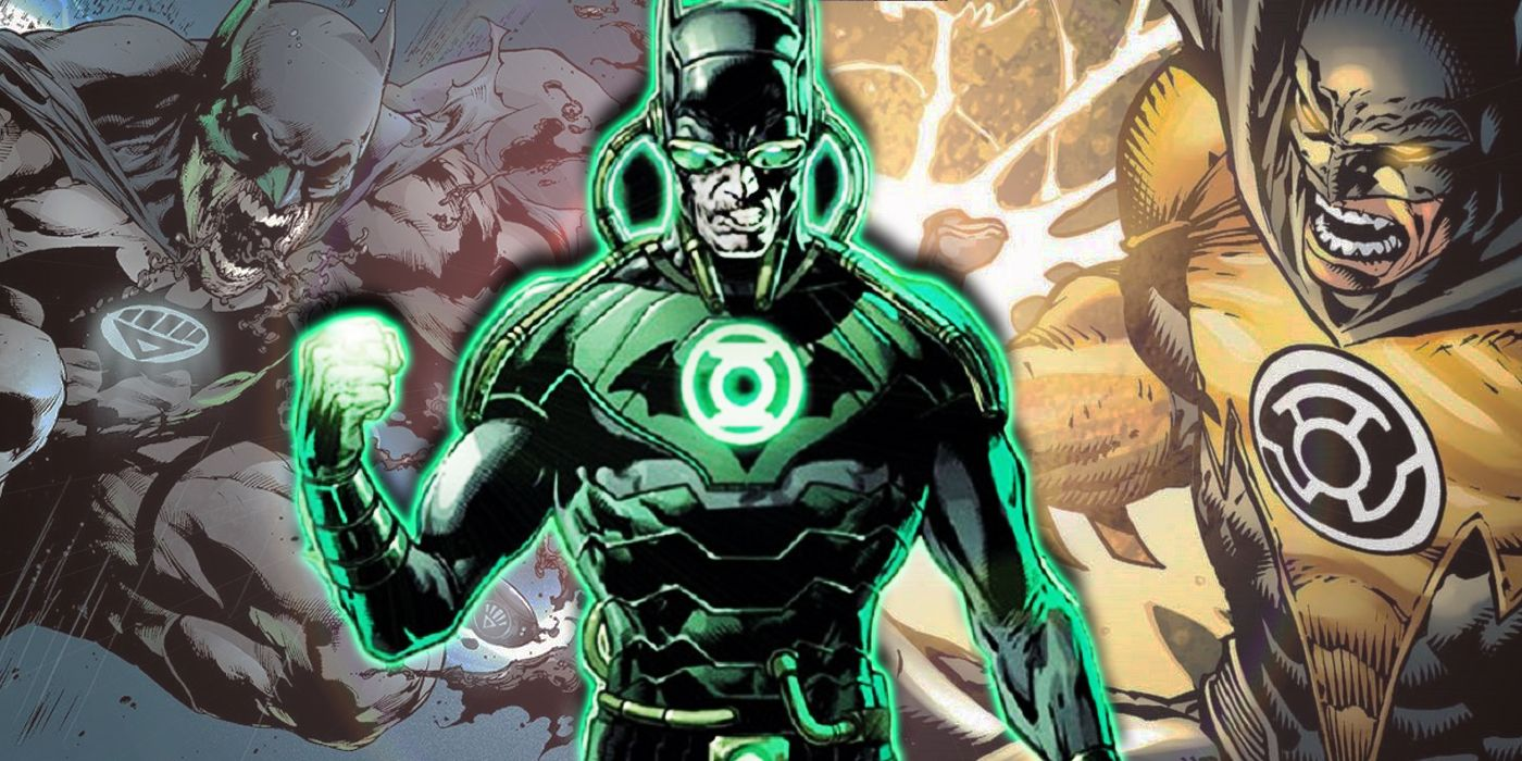 15 Times Batman Wore A Lantern Ring | CBR