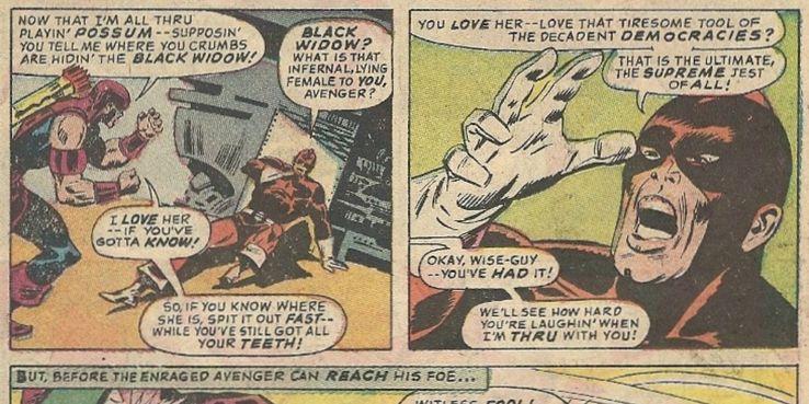 15 Times Black Widow Was Romanced | CBR