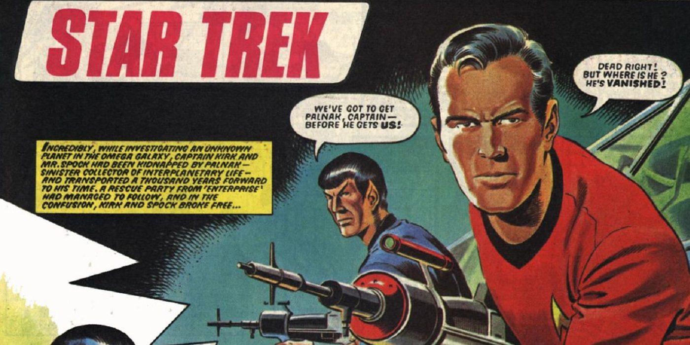 Did UK Have Star Trek Comics Before the Show Itself?   CBR