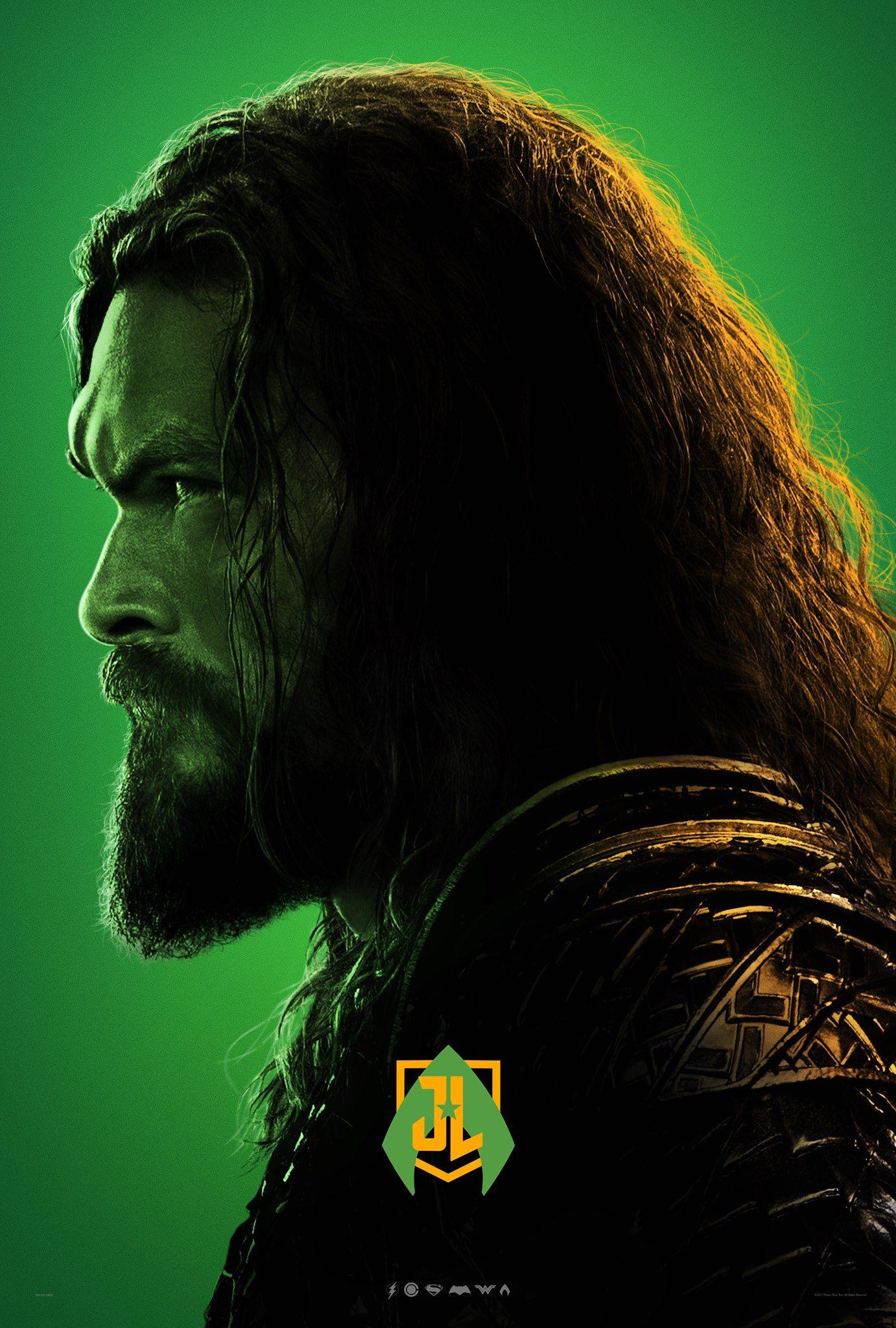 Justice League Poster Art Print Jason Momoa Aquaman