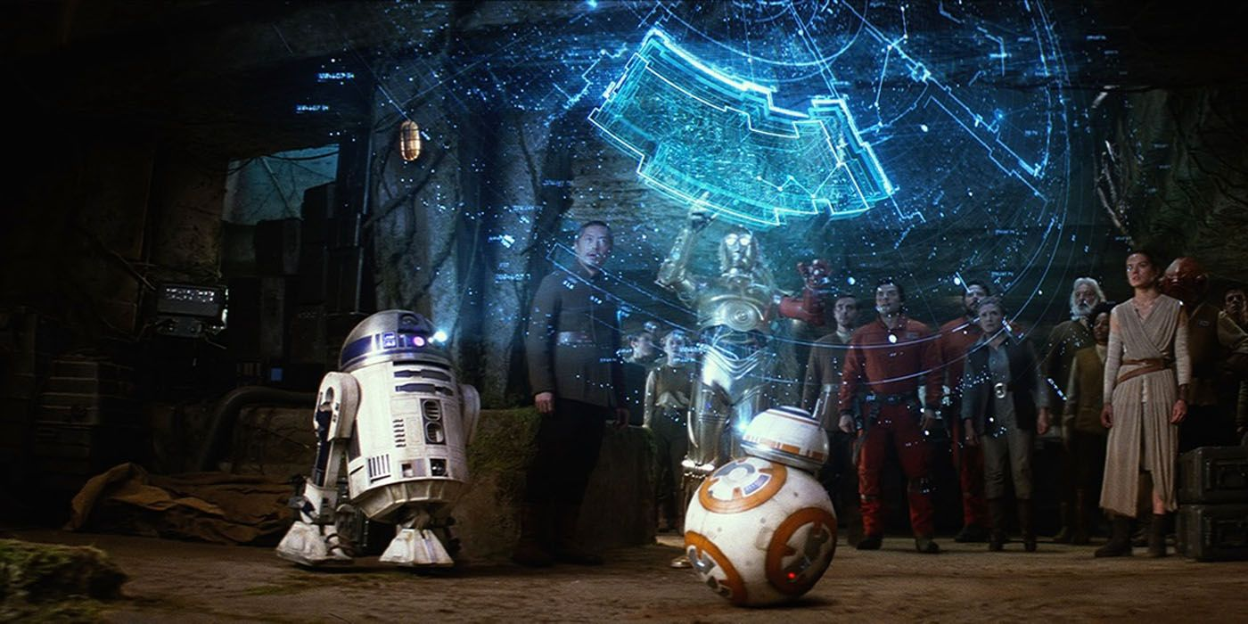 Star Wars: The Last Jedi Deleted Scene Gives BB-8 an R2-D2 Moment