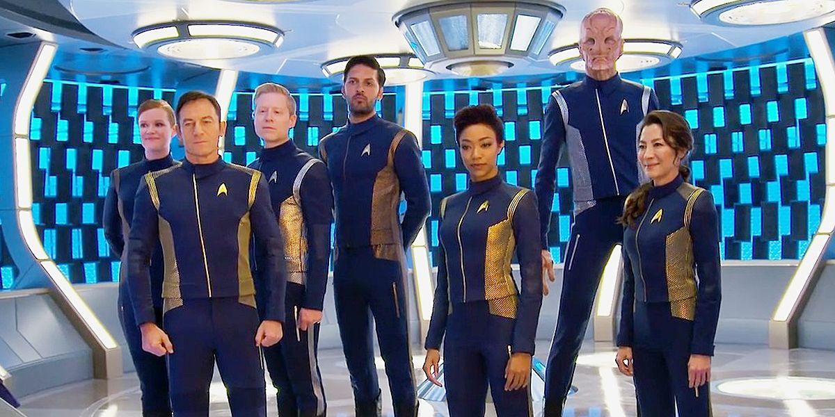 STAR TREK DISCOVERY Star Fleet Uniform Female