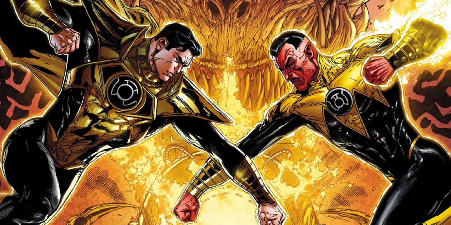 is green lantern s sinestro now a superman villain cbr