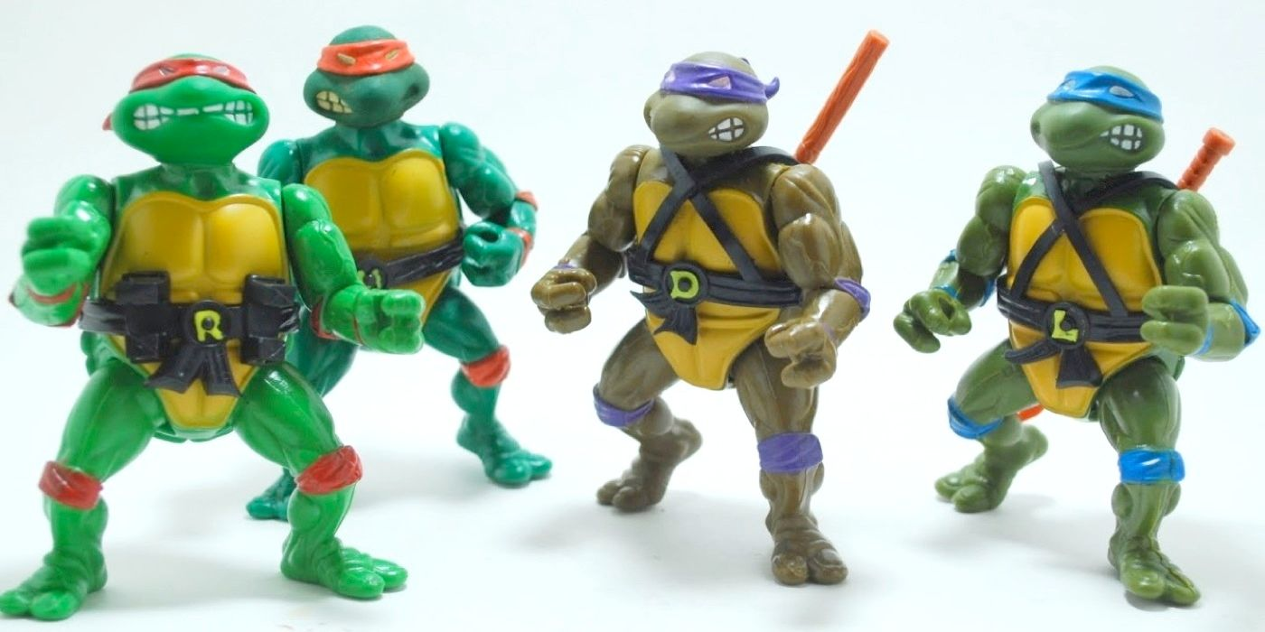Teenage Mutant Ninja Turtles Teenage Mutant Ninja Turtles Classic 1988 Action Figure 4 Pack