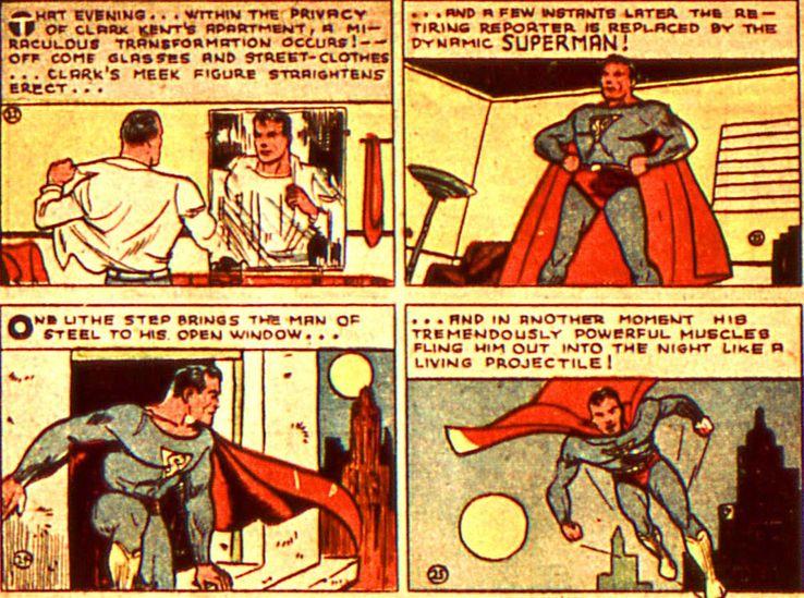 action comics 7 - Cuando Superman consiguió sus apodos más famosos