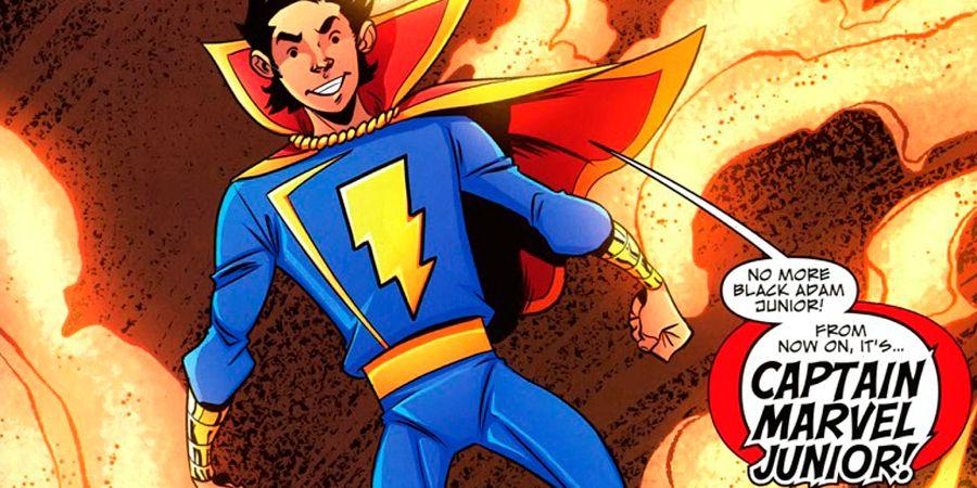 Shazam Movie Has Freddy Freeman Captain Marvel Jr