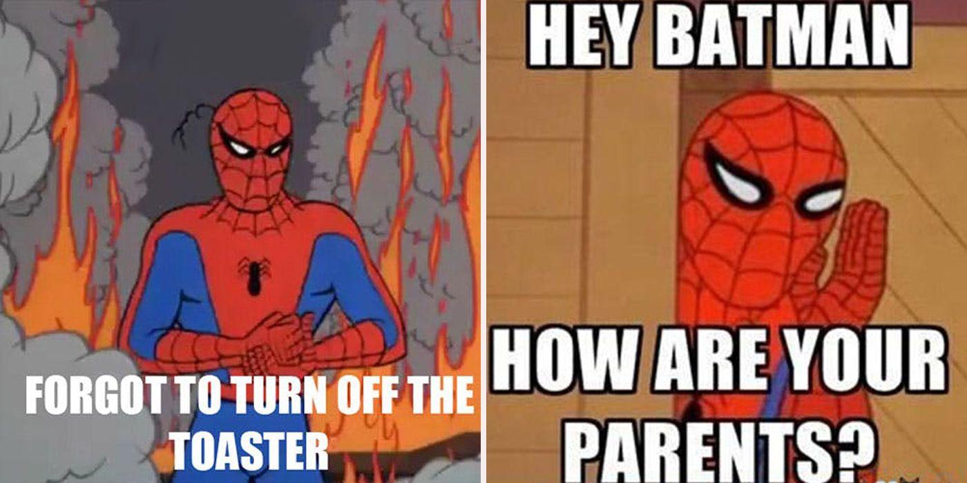 the best spider man memes cbr
