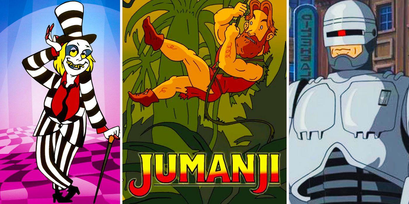 movies you never knew had crazy cartoon spin offs cbr