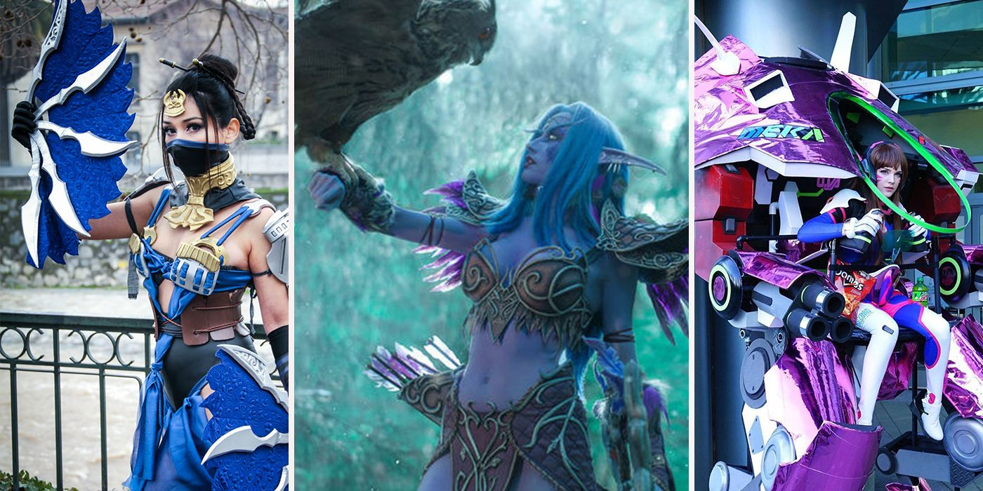 The 15 Fiercest Gamer Girl Cosplays