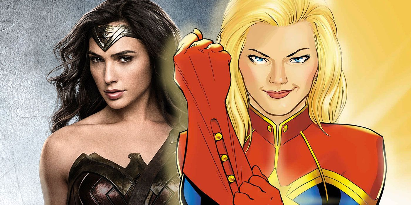 who would win? captain marvel vs. wonder woman | cbr