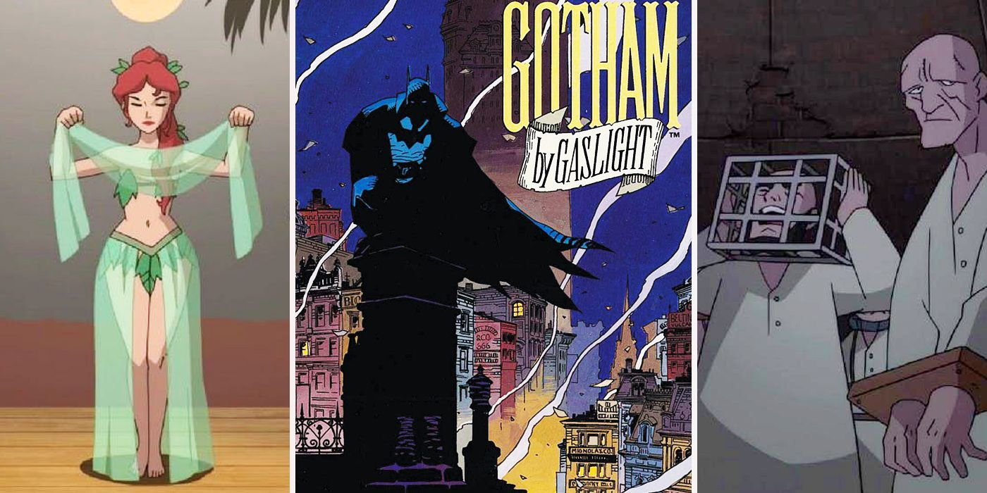 Gotham By Gaslight Cartoon Easter Eggs | CBR