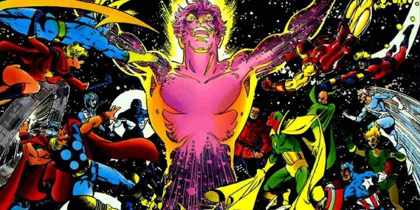 The Avengers Make Themselves Feel Better for the Korvac Saga