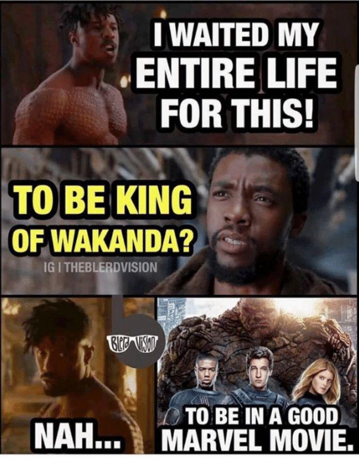 Wakanda Forever Funny Meme