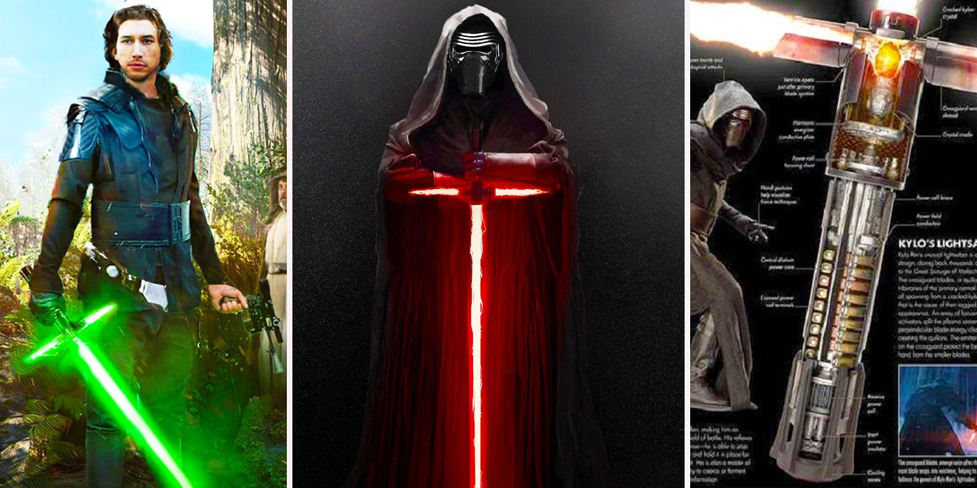 Facts And Rumors About Kylo Ren S Lightsaber Cbr