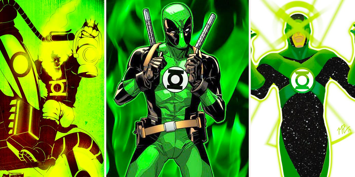 marvel characters reimagined as green lanterns cbr