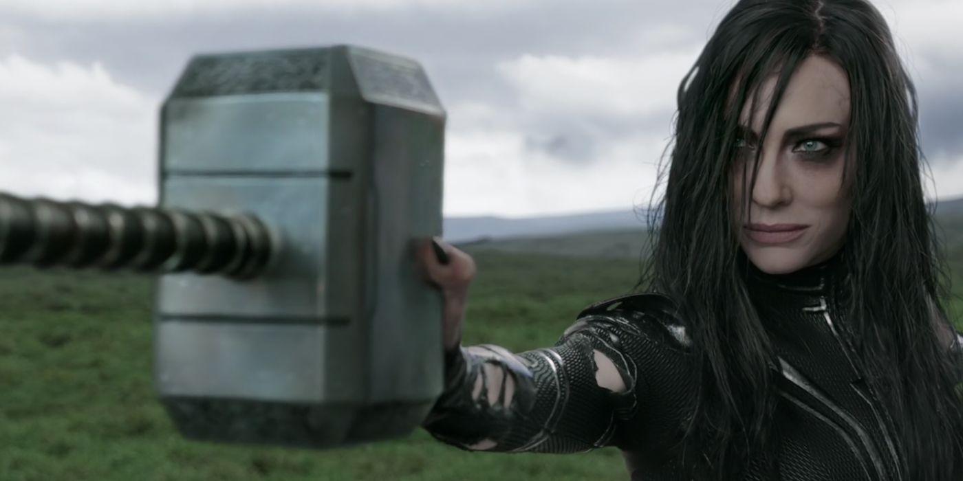 """Image result for hela breaks thor's hammer"""""""