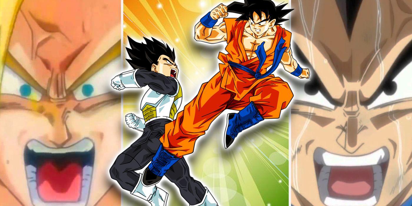 Vegeta Goku