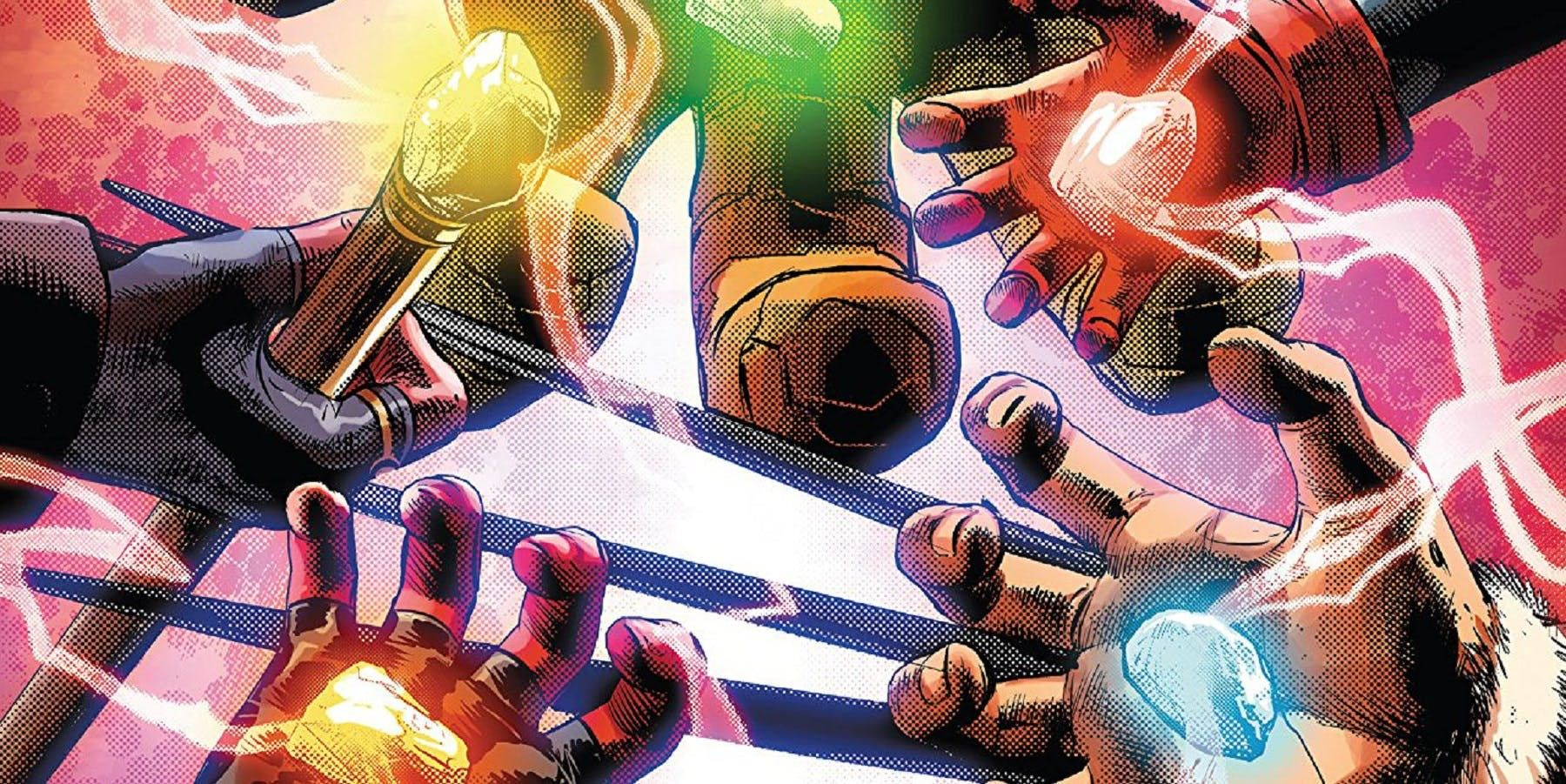 Infinity Countdown Teases A Full Armor to Wield the Stones | CBR