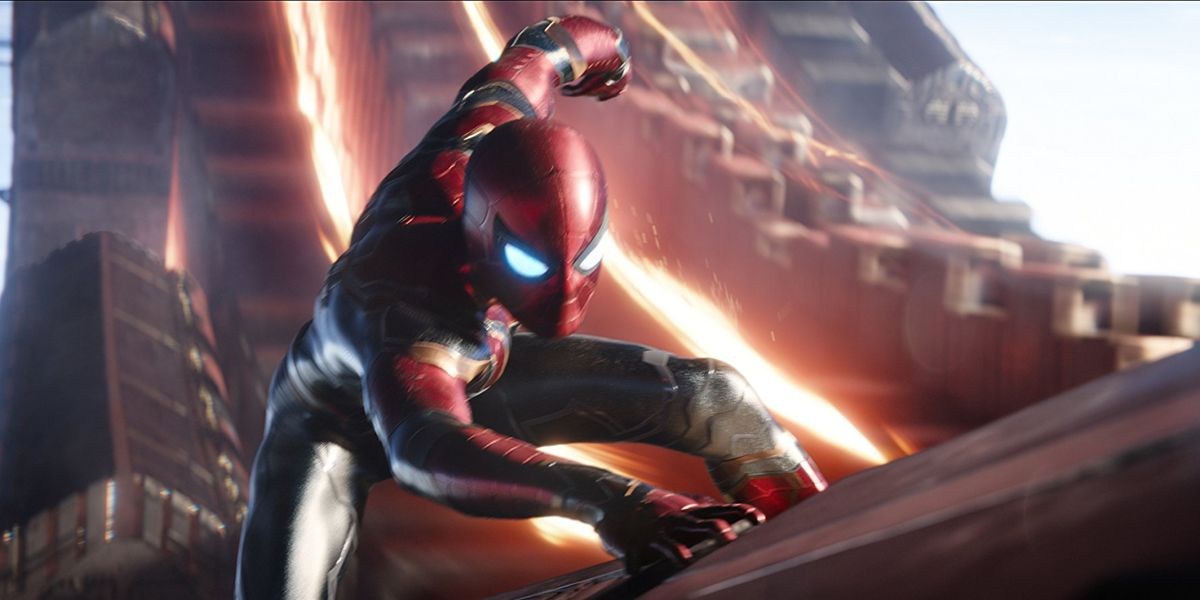 Avengers: Infinity War - Tom Holland Reveals Details of Crazy Cut Scene