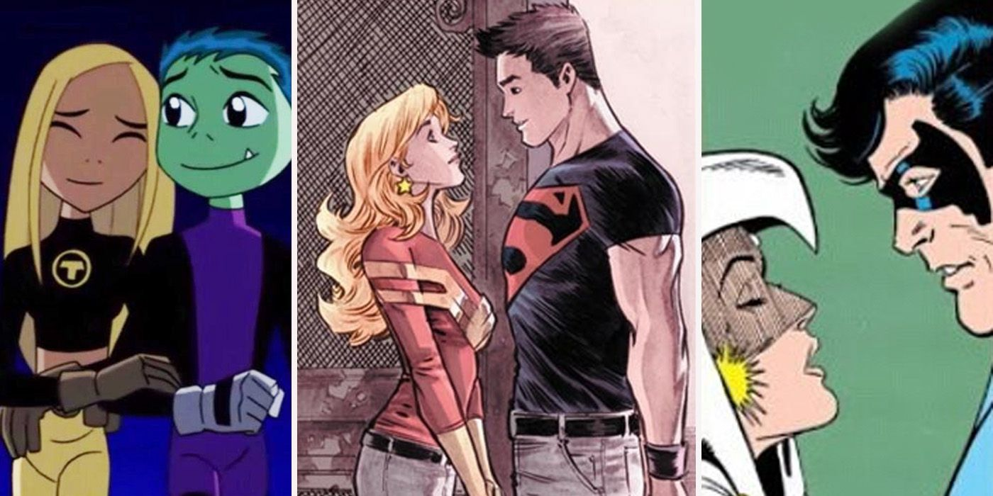 15 Bad Teen Titans Relationships That Angered True Fans | CBR