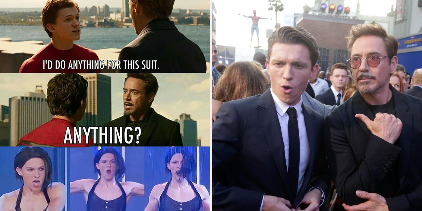 17 Totally Dank Iron Man And Spider-Man Memes | CBR