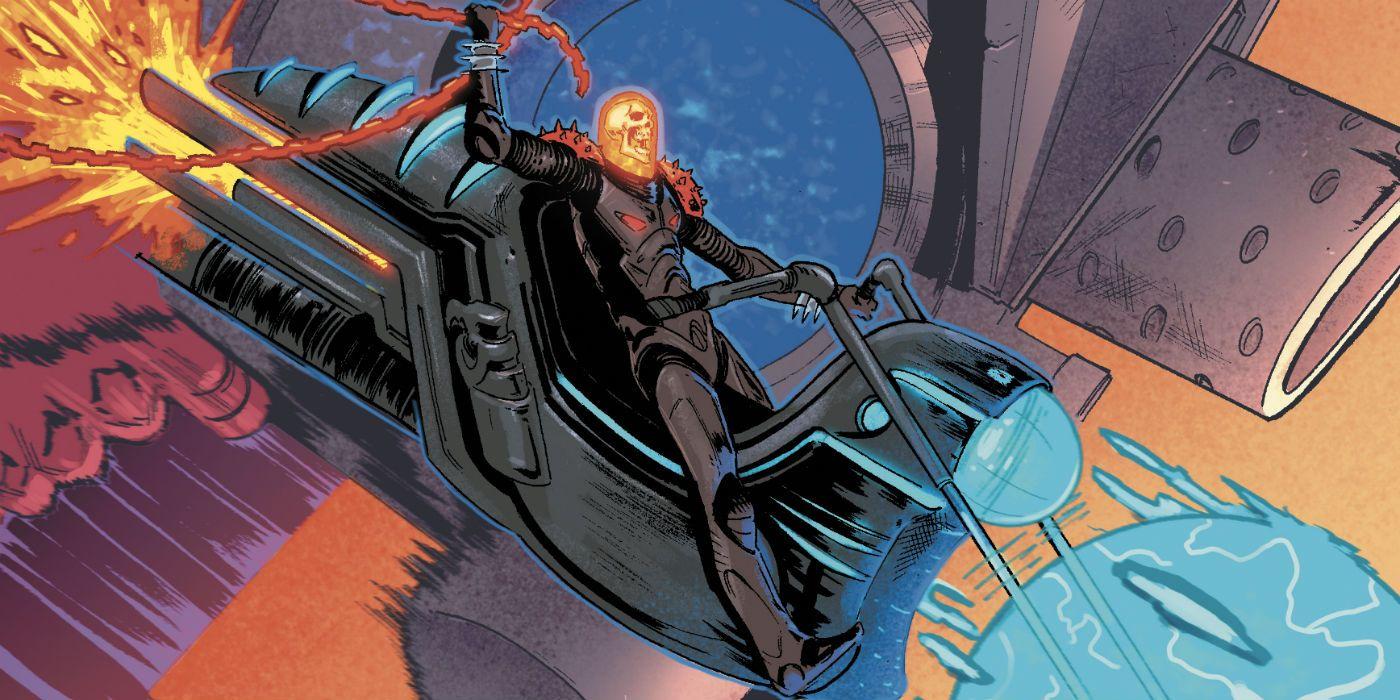 The Origin of Marvel's Cosmic Ghost Rider Revealed | CBR