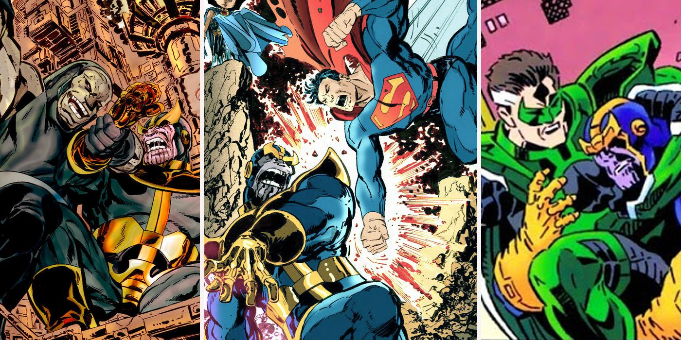 Infinity Crisis: 15 DC Characters Who Would Could Easily Beat Thanos