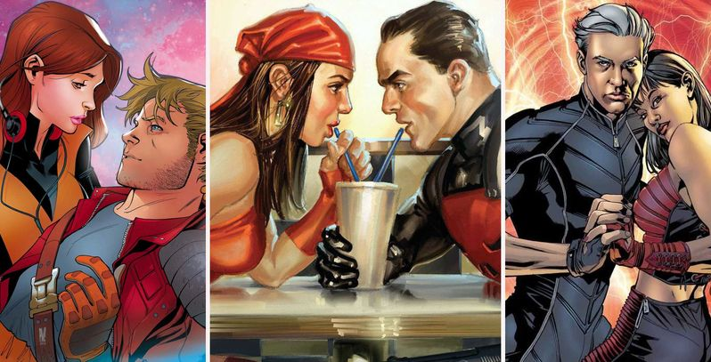 Love Is A Battlefield: 15 Totally Unexpected Superhero Romances