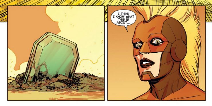 Capitaine Marvel vibranium