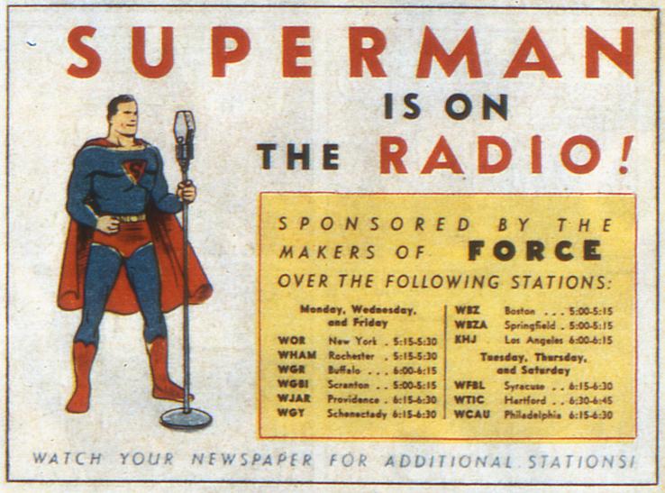 """img supermanad - ¿Cuándo dijo Perry White por primera vez """"Por el Fantasma del Gran César"""" en los cómics?"""