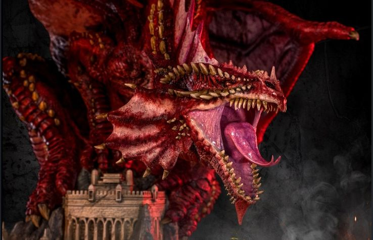 Ancient Red Dragon 5e