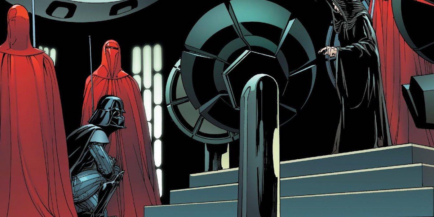 Marvel's Darth Vader Unravels A Huge Phantom Menace Easter Egg