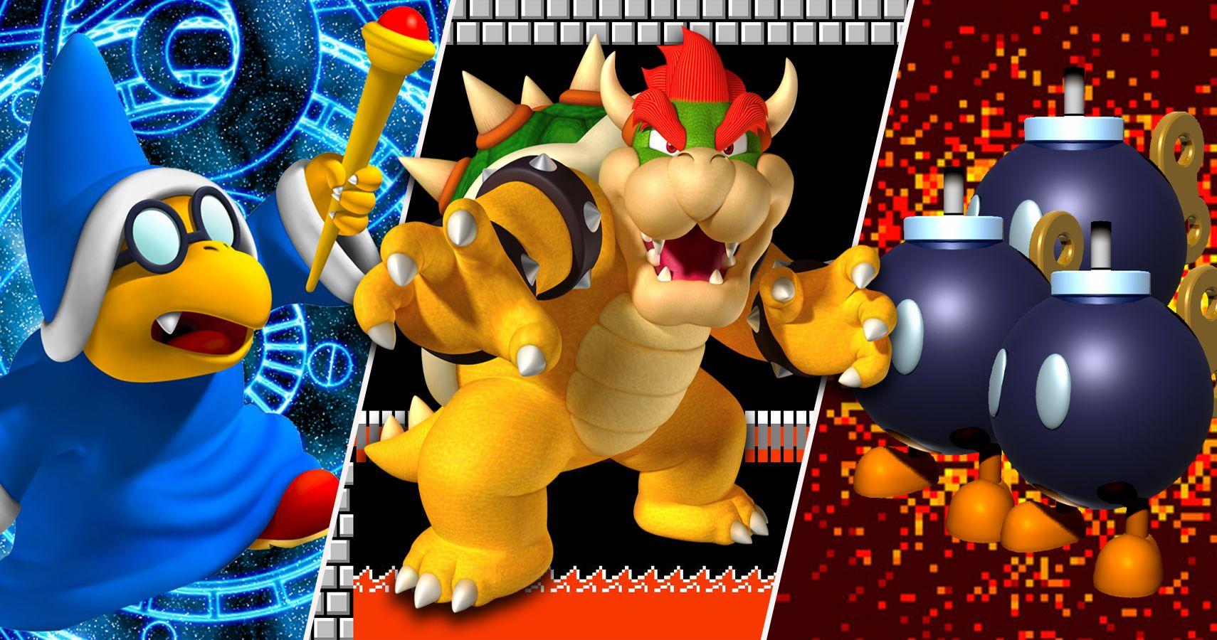The 27 Deadliest Foes Of The Mario Bros Cbr