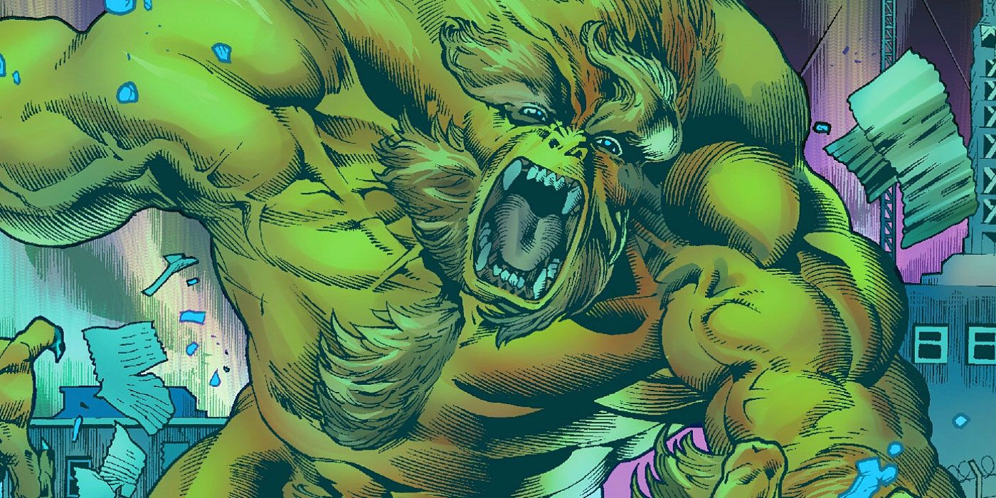 Sasquatch 'Dies' in Immortal Hulk #4 -- And Then Things Get ...
