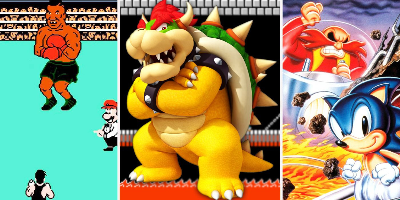 Playing With Power The 25 Strongest Nintendo Bosses Cbr