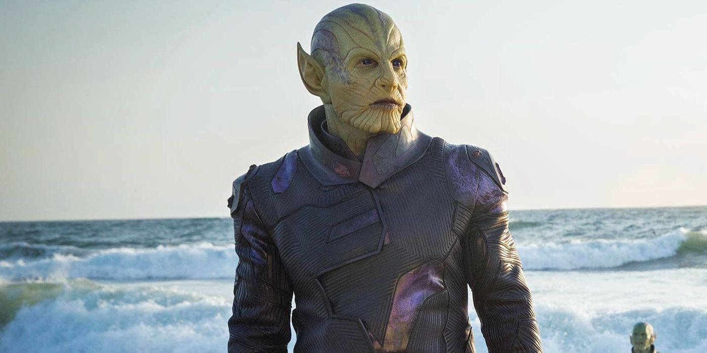 Skrull idea was fairly new during the production