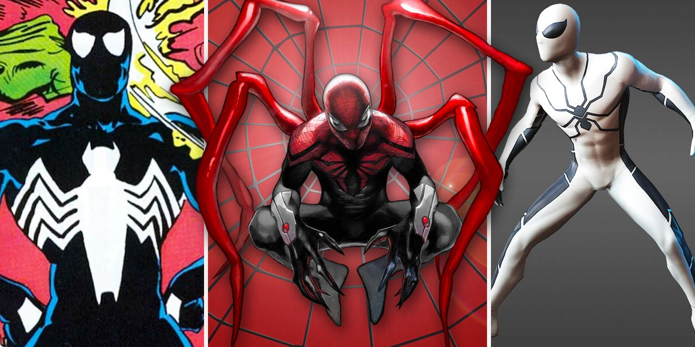 ce2d389d Spider-Man PS4: 10 Costumes We Wish Were Playable (And 10 We're Glad Didn't  Make It)