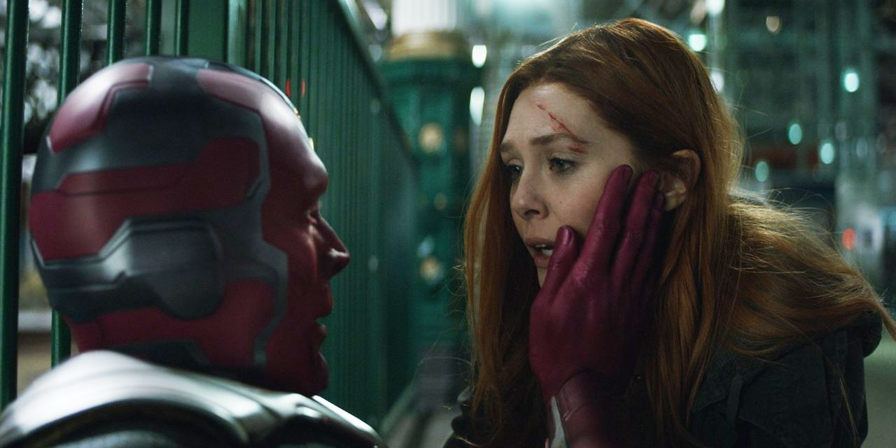 First WandaVision Poster Teases Scarlet Witch, Vision's Domestic Bliss