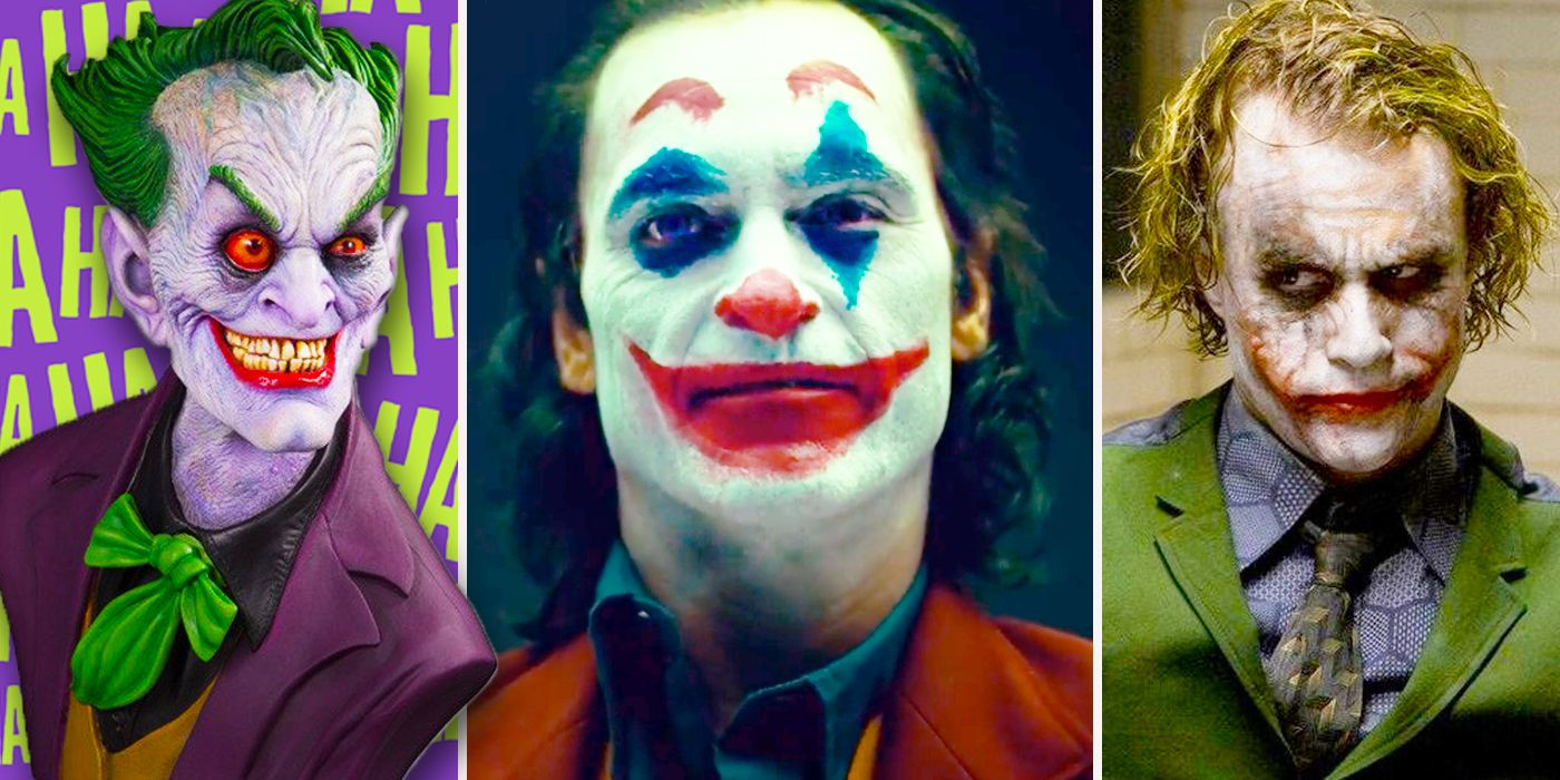 The Joker 10 Looks That Slay Us And 5 That Just Look Funny