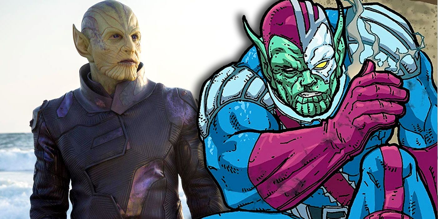Captain Marvels Talos Explained Cbr